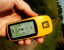 geocaching gps-tocht cache
